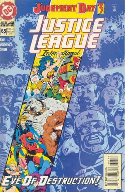Cover for Justice League International (DC, 1993 series) #65