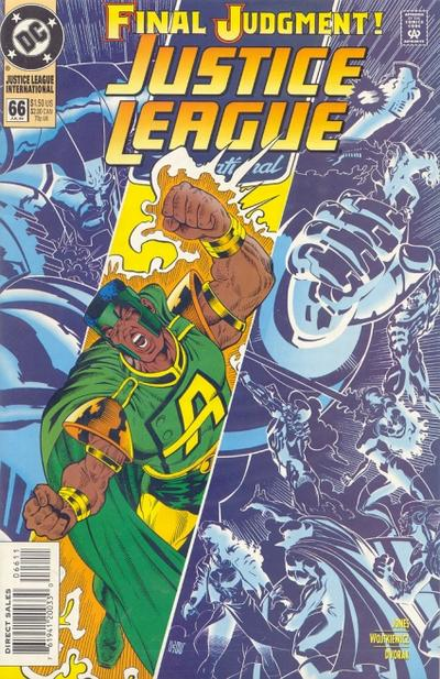 Cover for Justice League International (DC, 1993 series) #66
