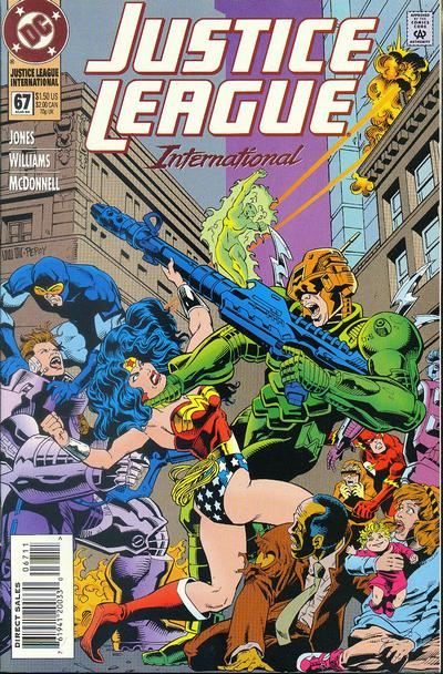 Cover for Justice League International (DC, 1993 series) #67