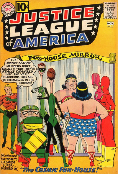 Cover for Justice League of America (DC, 1960 series) #7