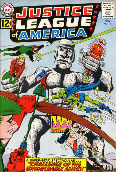 Cover for Justice League of America (DC, 1960 series) #15
