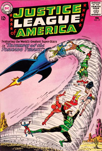 Cover for Justice League of America (DC, 1960 series) #17