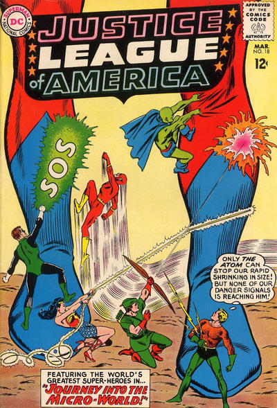 Cover for Justice League of America (DC, 1960 series) #18