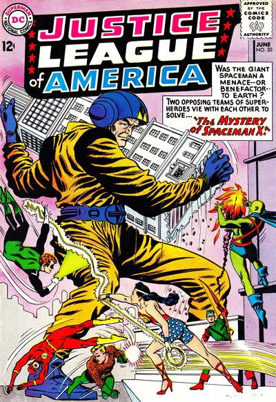 Cover for Justice League of America (DC, 1960 series) #20