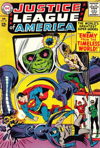Cover for Justice League of America (DC, 1960 series) #33