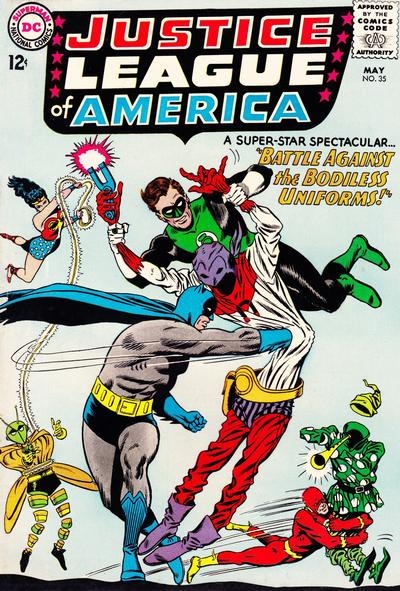 Cover for Justice League of America (DC, 1960 series) #35