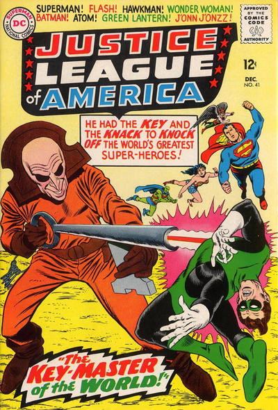 Cover for Justice League of America (DC, 1960 series) #41
