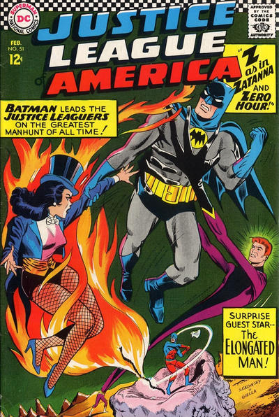 Cover for Justice League of America (DC, 1960 series) #51