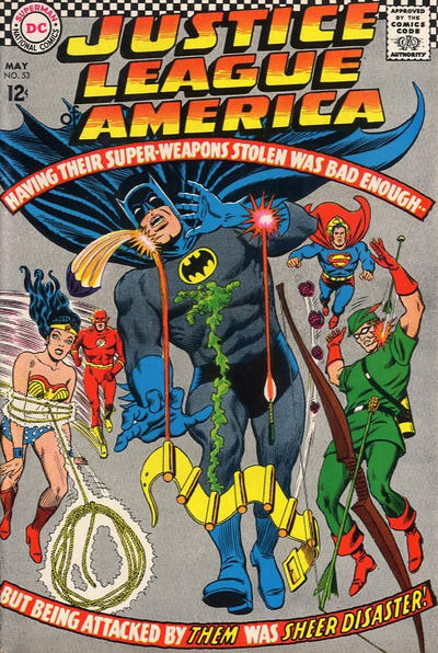 Cover for Justice League of America (DC, 1960 series) #53