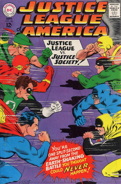 Cover for Justice League of America (DC, 1960 series) #56