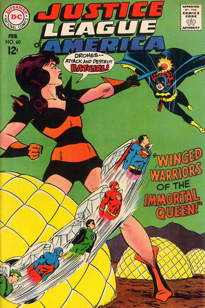 Cover for Justice League of America (DC, 1960 series) #60