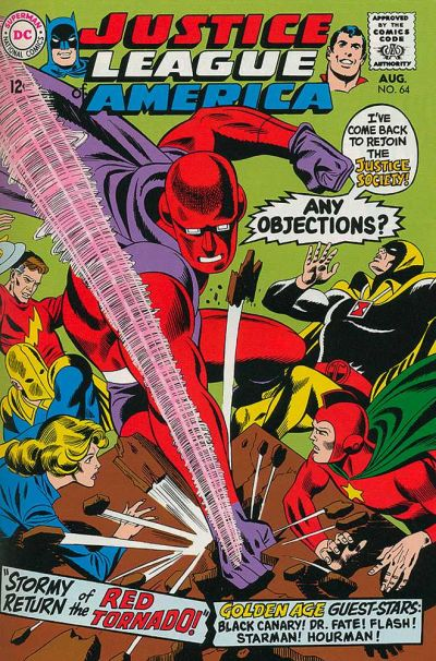 Cover for Justice League of America (DC, 1960 series) #64