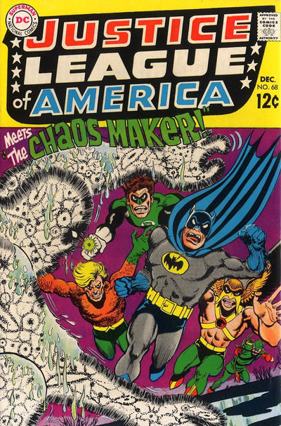 Cover for Justice League of America (DC, 1960 series) #68