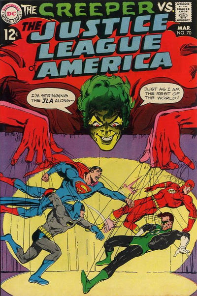 Cover for Justice League of America (DC, 1960 series) #70