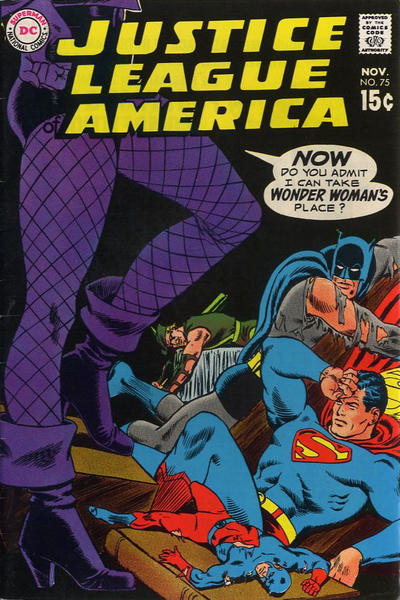 Cover for Justice League of America (DC, 1960 series) #75