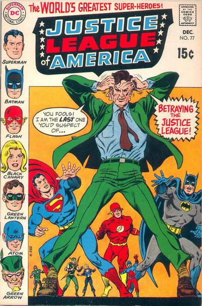 Cover for Justice League of America (DC, 1960 series) #77