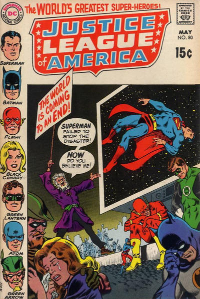 Cover for Justice League of America (DC, 1960 series) #80