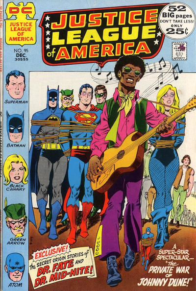 Cover for Justice League of America (DC, 1960 series) #95
