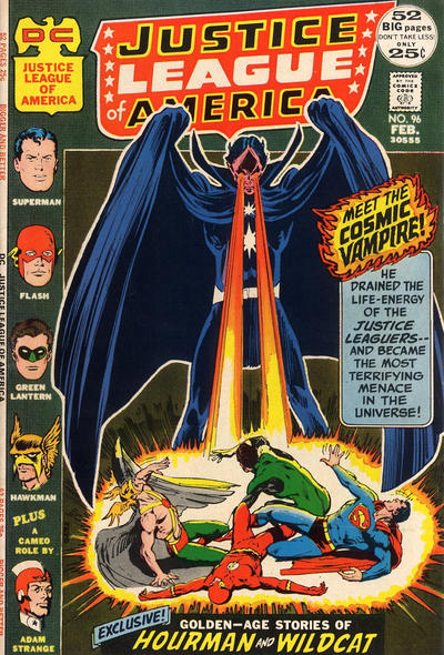 Cover for Justice League of America (DC, 1960 series) #96