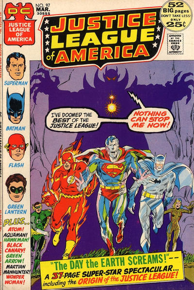 Cover for Justice League of America (DC, 1960 series) #97