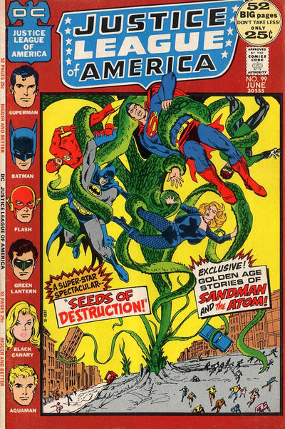 Cover for Justice League of America (DC, 1960 series) #99