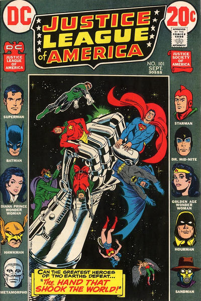 Cover for Justice League of America (DC, 1960 series) #101