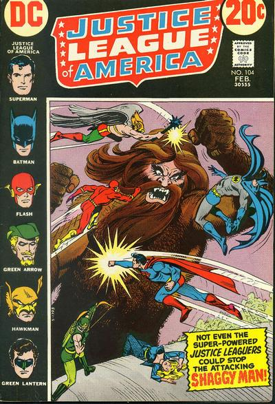 Cover for Justice League of America (DC, 1960 series) #104