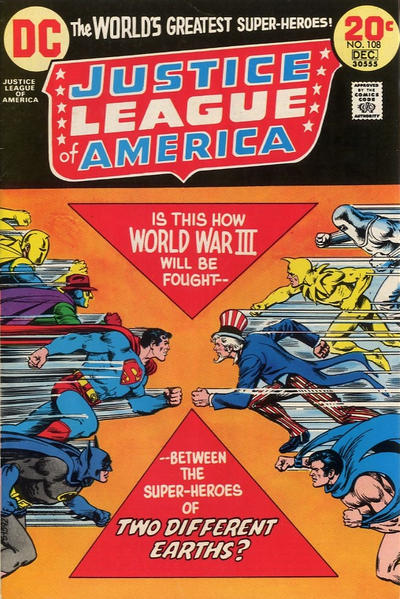 Cover for Justice League of America (DC, 1960 series) #108
