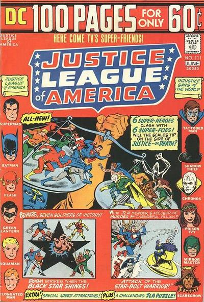 Cover for Justice League of America (DC, 1960 series) #111