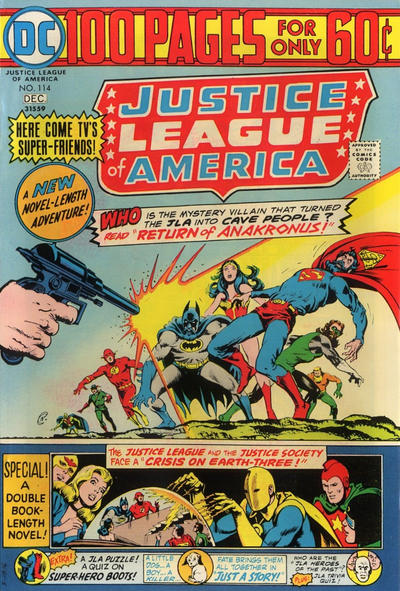 Cover for Justice League of America (DC, 1960 series) #114