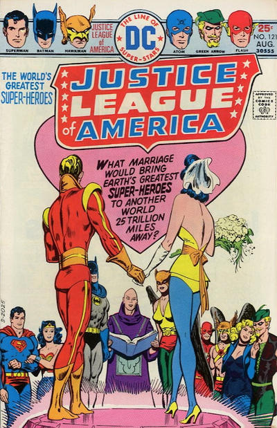 Cover for Justice League of America (DC, 1960 series) #121