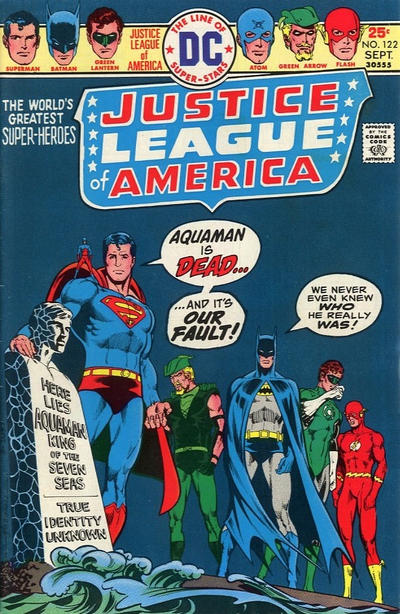 Cover for Justice League of America (DC, 1960 series) #122