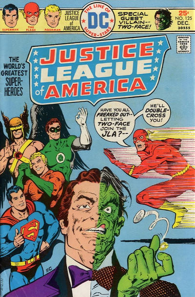 Cover for Justice League of America (DC, 1960 series) #125