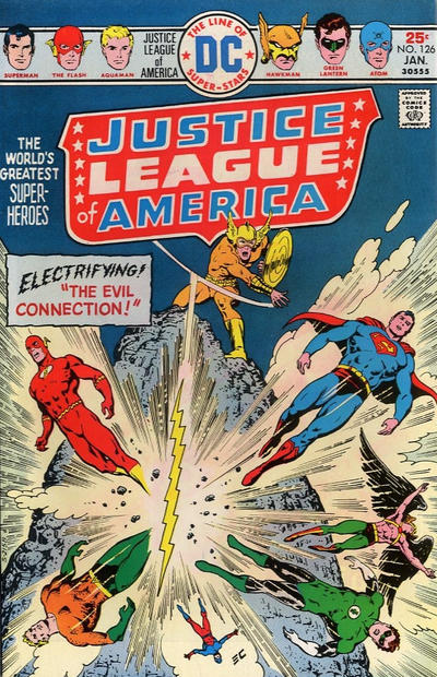 Cover for Justice League of America (DC, 1960 series) #126