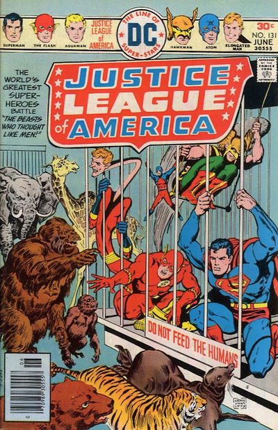 Cover for Justice League of America (DC, 1960 series) #131