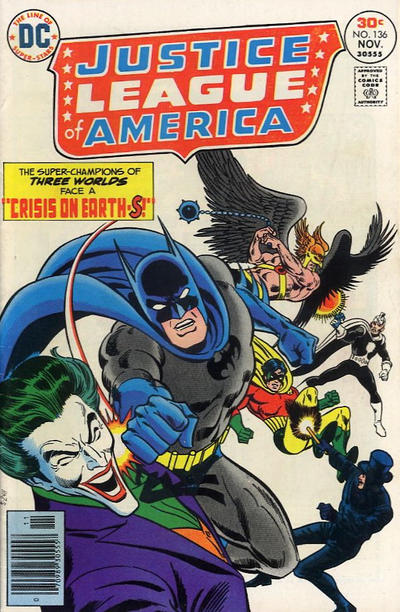 Cover for Justice League of America (DC, 1960 series) #136