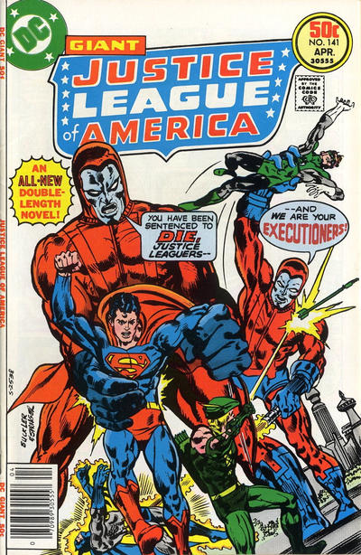 Cover for Justice League of America (DC, 1960 series) #141