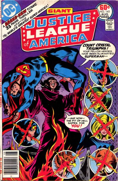 Cover for Justice League of America (DC, 1960 series) #145
