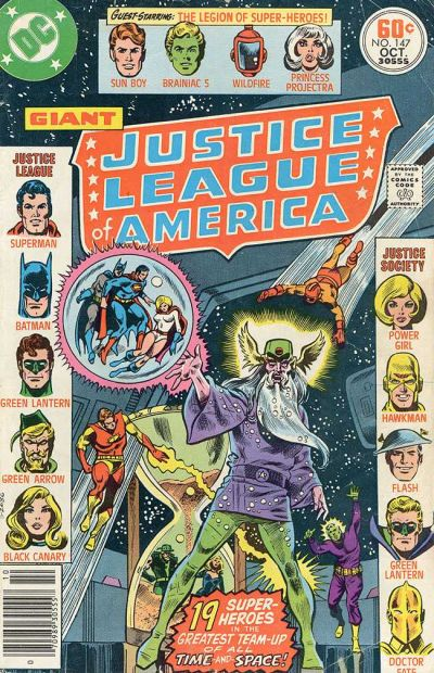 Cover for Justice League of America (DC, 1960 series) #147