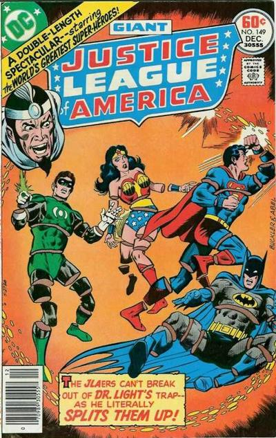 Cover for Justice League of America (DC, 1960 series) #149
