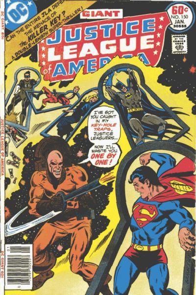 Cover for Justice League of America (DC, 1960 series) #150