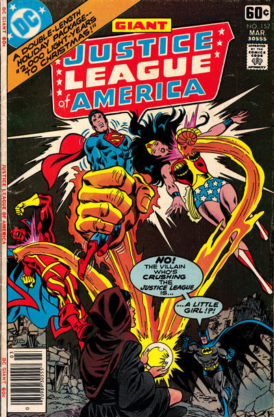 Cover for Justice League of America (DC, 1960 series) #152