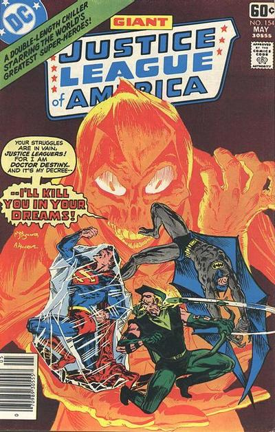 Cover for Justice League of America (DC, 1960 series) #154