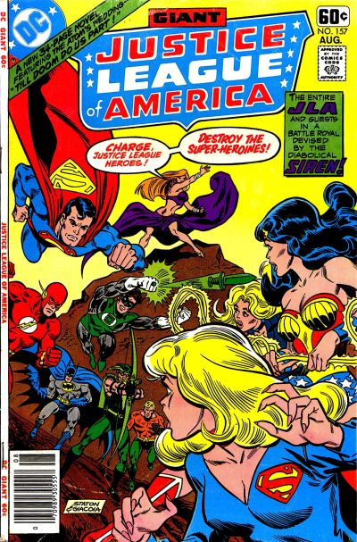 Cover for Justice League of America (DC, 1960 series) #157