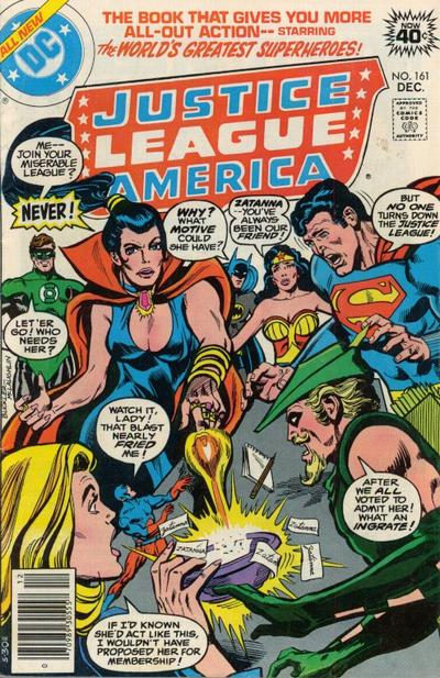 Cover for Justice League of America (DC, 1960 series) #161