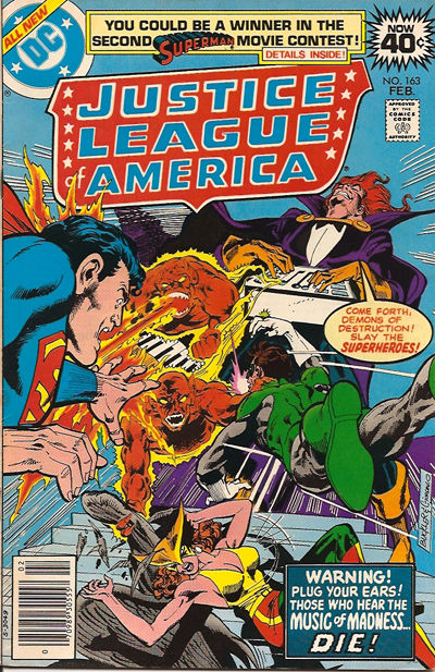 Cover for Justice League of America (DC, 1960 series) #163