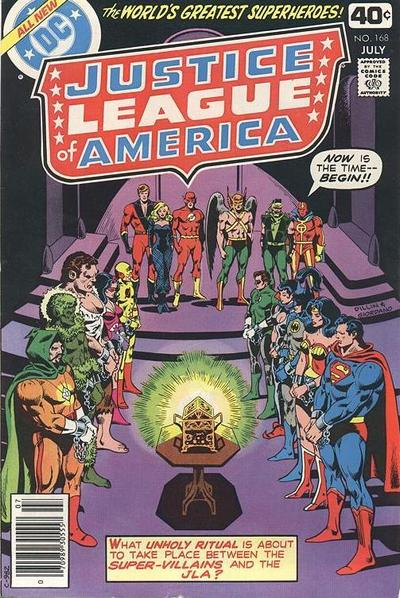 Cover for Justice League of America (DC, 1960 series) #168