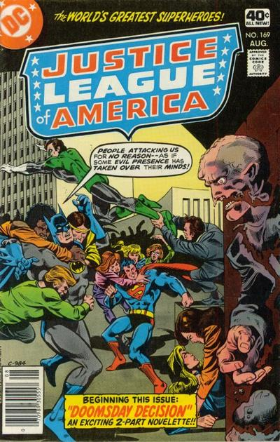 Cover for Justice League of America (DC, 1960 series) #169