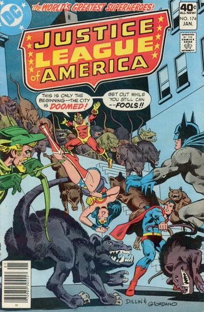 Cover for Justice League of America (DC, 1960 series) #174 [Regular Edition]