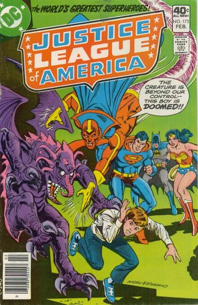 Cover for Justice League of America (DC, 1960 series) #175